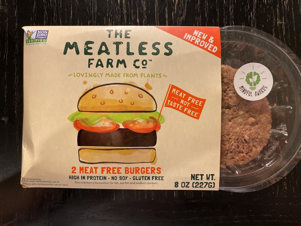 2 Meat Free Burgers