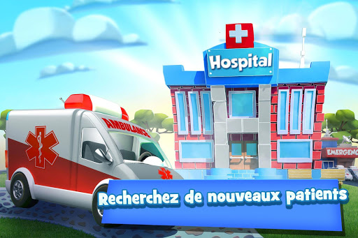 Dream Hospital Simulation - Manager D'Hôpital fond d'écran 2