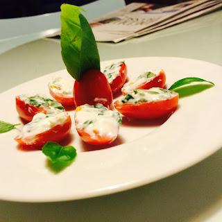 Basil Stuffed Tomatoes