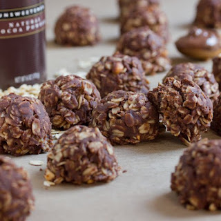 No-Bake Nutella Peanut Butter Cookies