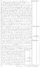 Photo: Regionaal Archief Leiden, Notarieel Archief Noordwijk, Inv. Nr. 19, notaris Cornelis Catharinus van der Schalk, akte 28, blad 10, dd. 21-02-1861  Boedelscheiding van de boedel van Job Duivenvoorden, overleden te Noordwijk op Langeveld, laatst echtgenoot van Hendrina van der Klugt.