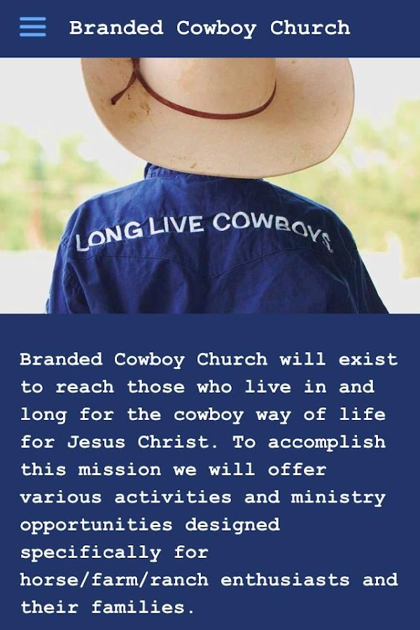 Branded Cowboy Church- screenshot