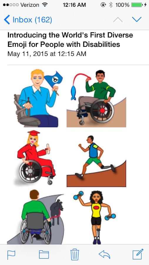 iDiversicons 1st Diverse Emoji- screenshot