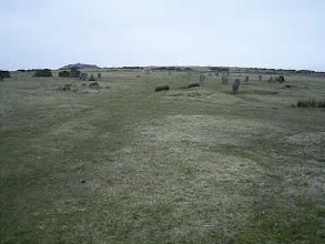 Photo: Jeden z wielu na Wyspach kręgów kamiennych.
