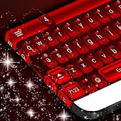 Red Theme Keyboard