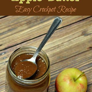 Super Easy Crockpot Apple Butter