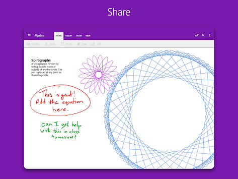 OneNote APK screenshot thumbnail 13