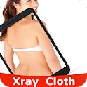 Xray camera Cloth Scan prank icon