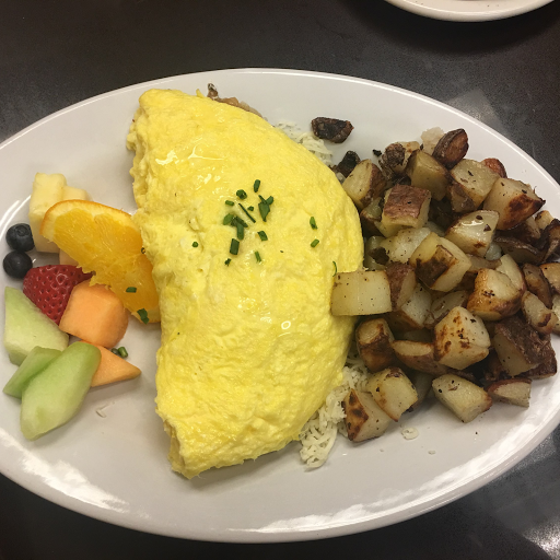 Peameal Bacon and Swiss Omelette