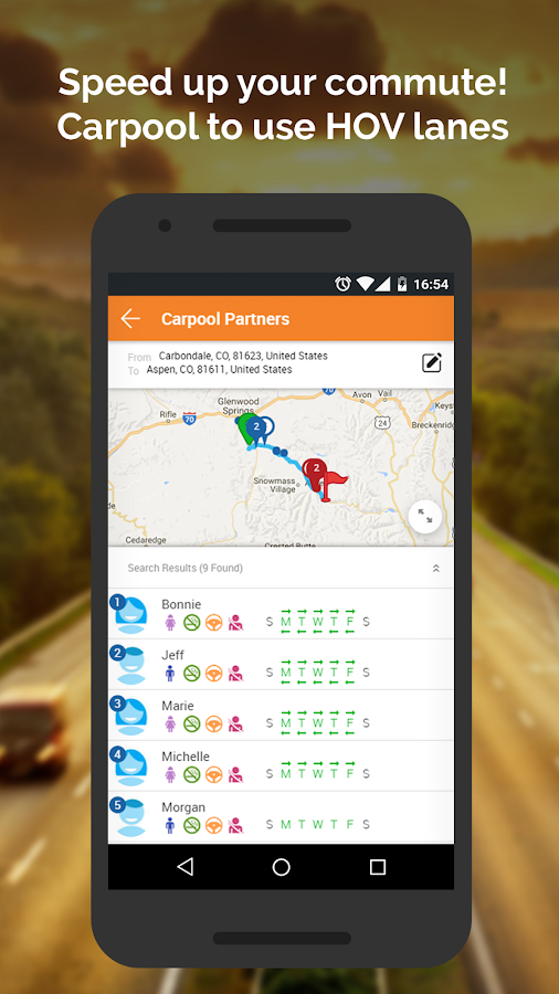 Commuter Connect- screenshot