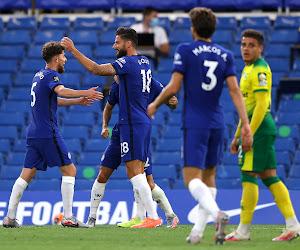 Olivier Giroud offre trois points très importants à Chelsea face à Norwich City