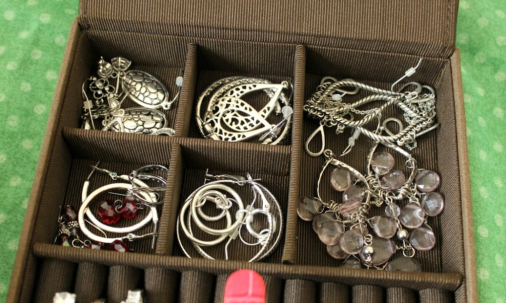 Go through your jewelry box to find items you longer want or need and sell them