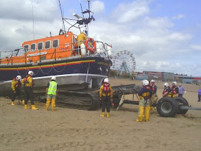Photo: Once winched past the mid point on the trailer, it falls horizontal.