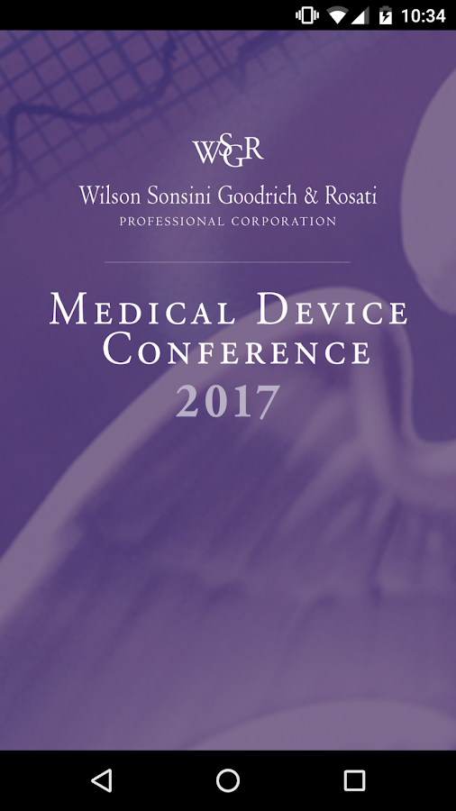 WSGR 2017 Medical Device- screenshot