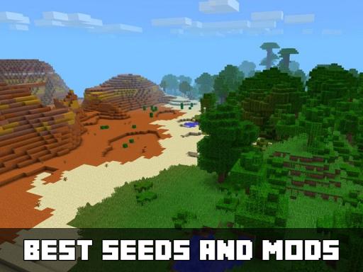 Seeds Mods for Minecraft PE