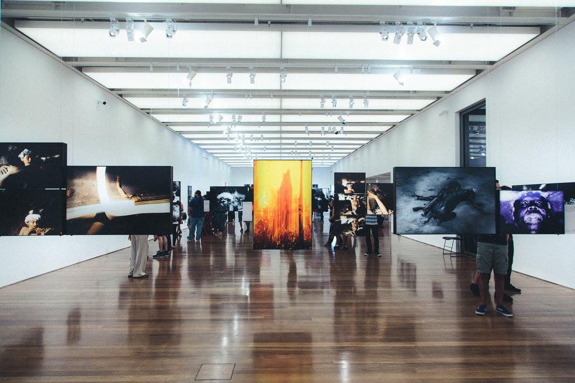 Paintings in Side Room