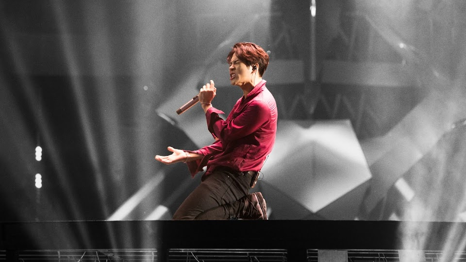 GOT7 Jackson performing