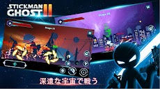 Stickman Ghost 2: Gun Sword - Shadow Action RPGのおすすめ画像1