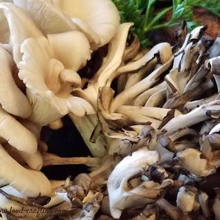 Wild Mushroom Bisque Soup.