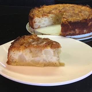 Forking Delicious Pear Almond Cake
