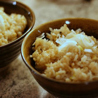 Negi Sinangag - Green Onion Garlic Fried Rice