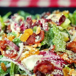 Radicchio Almond Caesar Salad