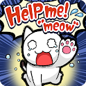 "Escape Game:Help me!""meow"" icon"