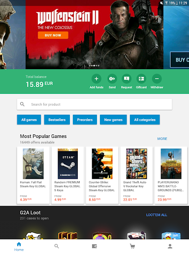 G2A - Game Stores Marketplace 1.10.3 screenshots 9