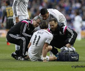 Bale rejoint Modric à l'infirmerie