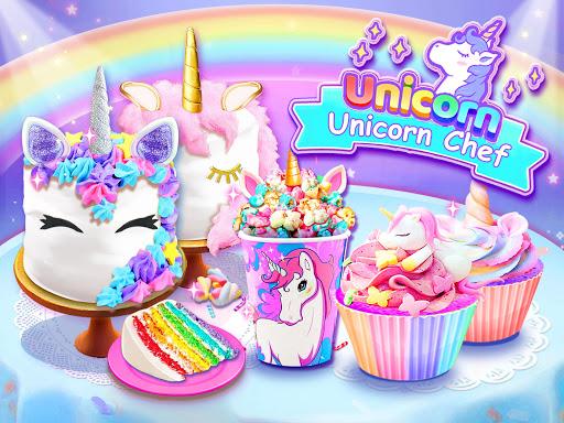 Unicorn Chef: Jeux de cuisine gratuits et amusants  captures d'écran 1