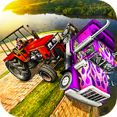 Tractor Demolition Derby: Crash Truck Wars