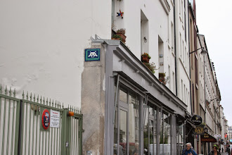 Photo: Street art - Space invaders -Paris XIe - rue de la Roquette