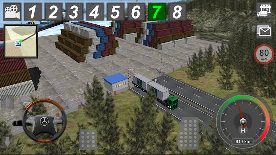 GBD Mercedes Truck Simulator- screenshot thumbnail