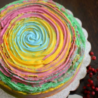 Holi cake (For the Festival of Colours)