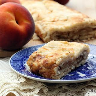 Peach Cobbler Strudel (Gluten-Free, Vegan/Plant-Based)