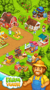Farm Town: Happy farming Day & top farm game City - náhled