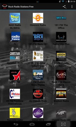 Rock Radio Stations Free
