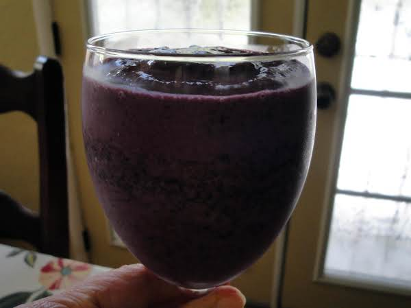 Maple Blue Smoothie Recipe