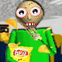 Scary Fear Math Teacher Loves Chips Horror Edu Mod icon