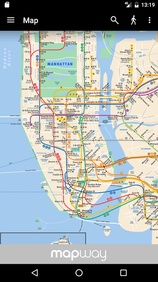 mta new york subway map pdf