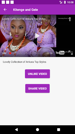 Kitenge fashion 2019 & How to tie Gele 1.0.1 screenshots 1