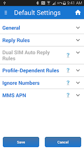 SMS Auto Reply Text Message- screenshot thumbnail