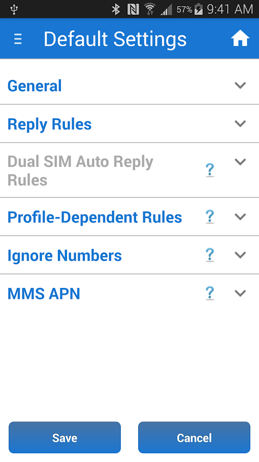 SMS Auto Reply Text Message- screenshot