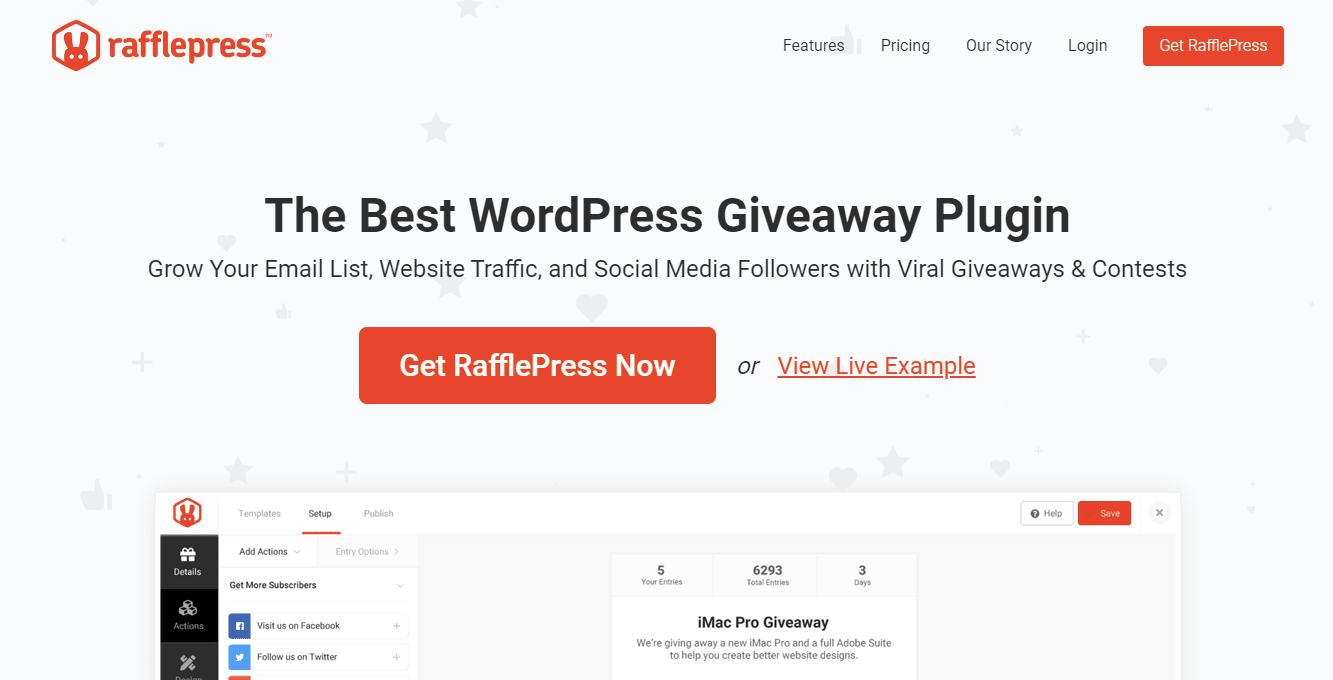 Raffle Press WordPress Plugin