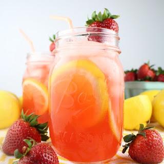 Loaded Strawberry Lemonade.