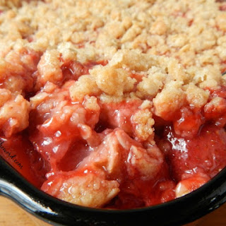 Strawberry Crisp With Oats Recipes