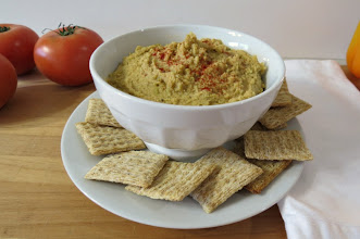 Photo: Smoked Paprika Edamame Bean Dip - A creamy, zippy dip made with edamame beans, cannellini beans, paprika, garlic and lemon.  http://www.peanutbutterandpeppers.com/2012/12/28/edamame-bean-dip-a-trader-joes-scoop/  #beandip   #edamame   #spread   #cannellini   #beans   #veganrecipe