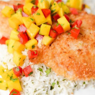 Coconut Crusted Rockfish