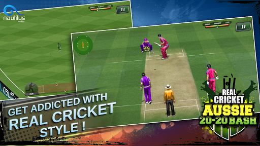 Real Cricket u2122 Aussie 20 Bash 1.0.7 screenshots 4