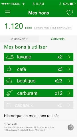 android ma Carte BP Screenshot 3